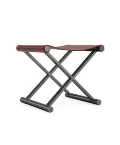 Mitchell Gold + Bob Williams X-base stool